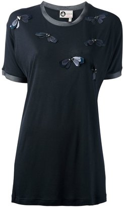 Lanvin butterfly detail t-shirt