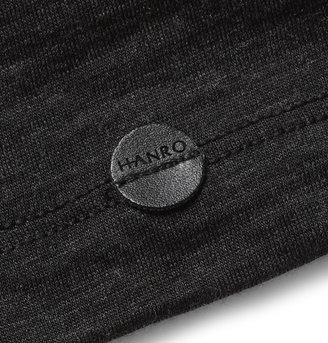 Hanro Fine Merino Wool and Silk-Blend T-Shirt