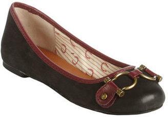 Lucky Brand Freeda Leather Ballet Flats