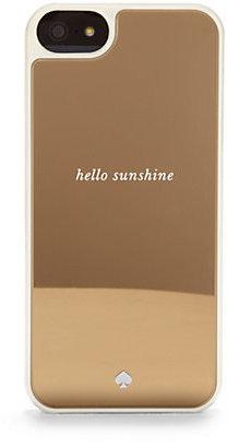 Kate Spade Hello Sunshine Mirrored Hardcase For iPhone 5