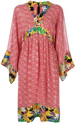 Duro Olowu 2000 Floral Print Tunic Dress