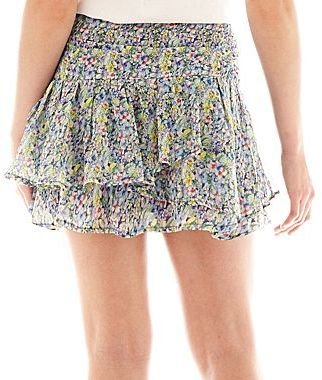Mng by Mango Floral Mini Skirt