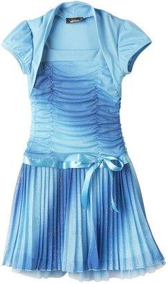 Amy Byer Iz mock-layer ombre glitter dress - girls 7-16