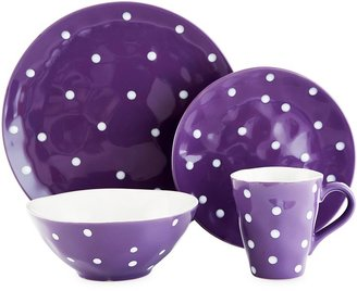 Maxwell & Williams Sprinkle Collection Dinnerware in Purple