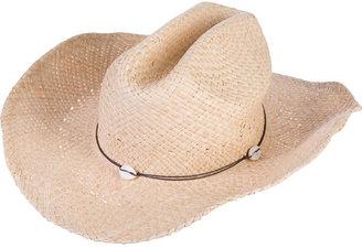 Melissa Odabash Shell Cowboy Hat