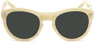 Rag and Bone Keaton Sunglasses - Bone