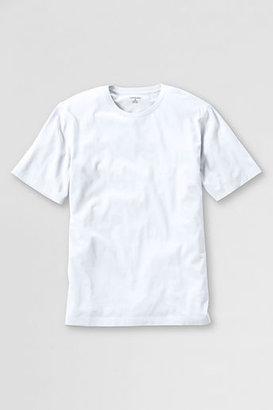 Lands' End Men's Regular Short Sleeve Essential T-shirt