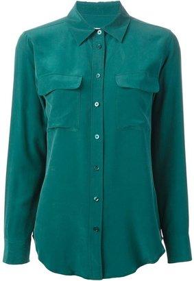 Equipment chest pocket shirt