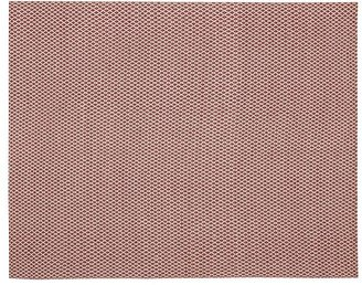 Pottery Barn Basic Diamond Recycled Yarn Indoor/Outdoor Rug - Red