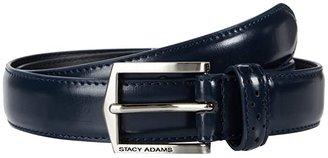 Stacy Adams 087 (Black) Men's Belts