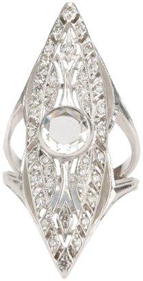 Loree Rodkin Art Deco marquise ring