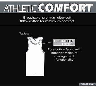 adidas 2-pk. Athletic Comfort Ribbed Tank