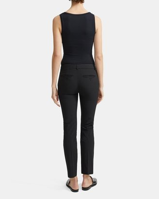 Theory Classic Cropped Pant in Stretch Wool