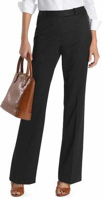 Plain-Front Caroline Fit Gabardine Trousers $198 thestylecure.com
