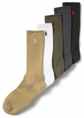 Polo Ralph Lauren Men's Stretch Cotton Socks $12 thestylecure.com