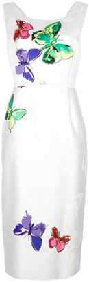 Marc Jacobs butterfly print dress
