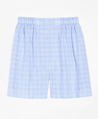 Brooks Brothers Slim Fit Glen Plaid Boxers