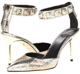 Brian Atwood Mercada 4 (Silver) - Footwear