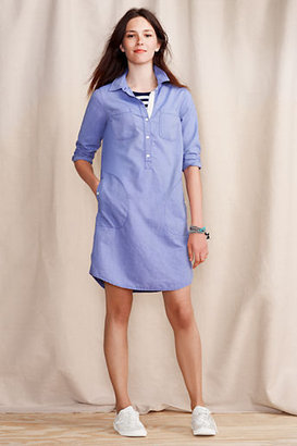 Lands' End Women's Oxford Shirtdress