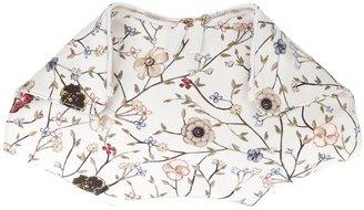 Alexander McQueen 'De Manta' floral clutch