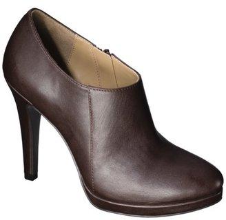Merona Women's Molly Heel Bootie - Brown