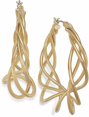 Charter Club Spiral Hoop Earrings $24.50 thestylecure.com