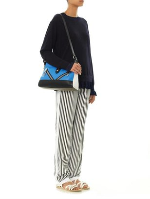 J Brand Delia striped trousers