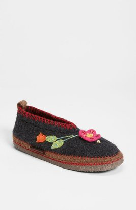 Giesswein 'Spital Flower' Slipper