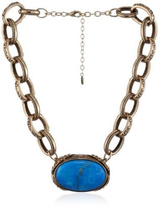 """Barse Bronzed by Jubilee"""" Turquoise Necklace"""