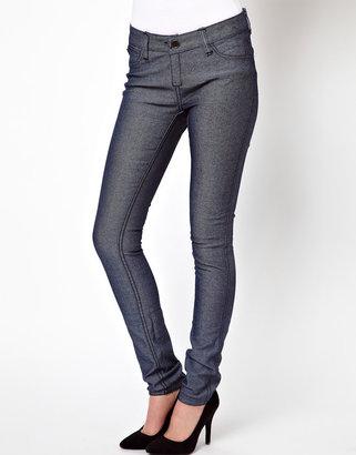 Tripp NYC Reversible Jean in Cheetah Print