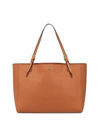 Tory Burch York Saffiano Leather Tote Bag, Luggage $295 thestylecure.com