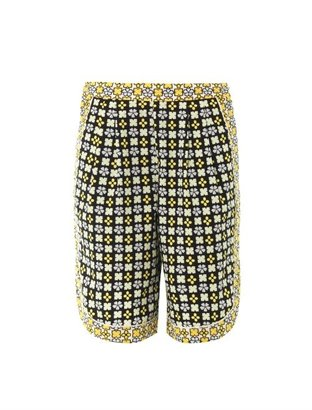 See by Chloe Geometric floral shorts