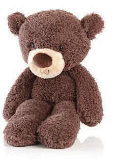 "Gund Fuzzy"" Chocolate Teddy Bear"