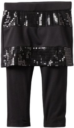 Amy Byer Girls 2-6X Sequin Skirt with Legging