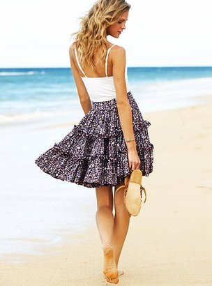 Victoria's Secret Tiered floral skirt