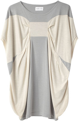 Tsumori Chisato Rayon Soft T Top with Bow