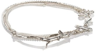 Noemi Klein Silver branch charm bracelet
