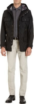 Barbour Beacon Hooded Military Jacket