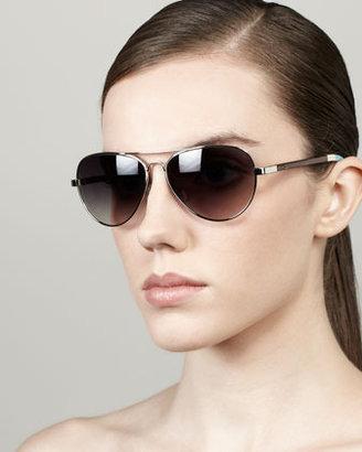 Toms Classic 301 Sunglasses, Silver/Light Blue