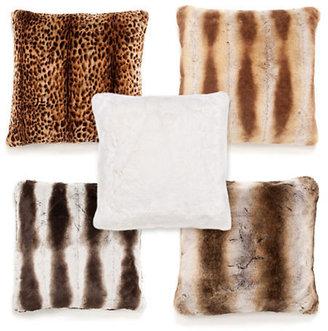 Gump's Faux Fur Pillows
