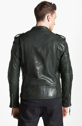 BLK DNM Lamb Leather Moto Jacket