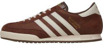adidas Mens Beckenbauer All Round Trainers Vintage Brown/White