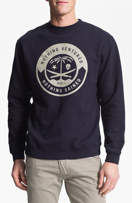 RVCA 'Korps' Graphic Crewneck Sweatshirt