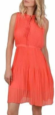 Molly Bracken Sleeveless Pleated Dress