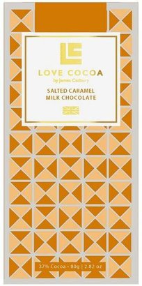 Love Cocoa Salted Caramel Milk Chocolate Bar 80G