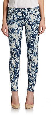 Mother The Tie-Dye Looker Skinny Jeans