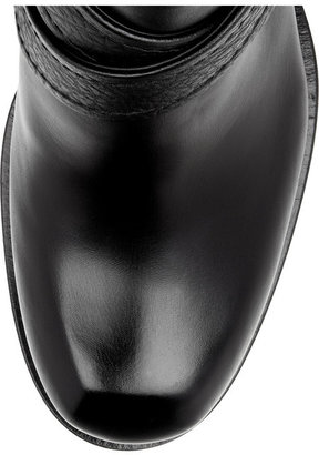 McQ by Alexander McQueen Crossover-strap leather ankle boots