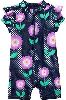 Old Navy Printed Swim One-Pieces for Baby