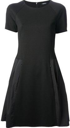 Jil Sander Navy tafetta skirt dress