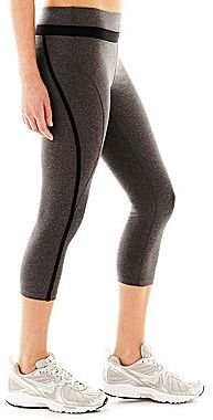 JCPenney Xersion Double-Banded Taped Capris
